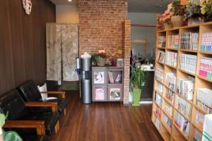 待合・喫茶スペース